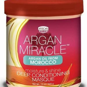 Argan miracle deep conditioning masque African pride