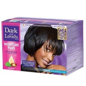 Moisture plus défrisage moyen Dark and lovely