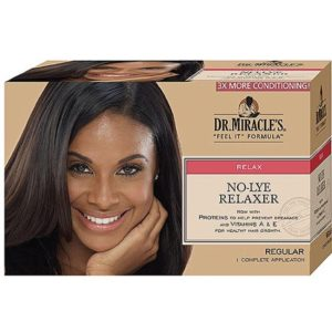 No-lye relaxer Regular Dr Miracle's
