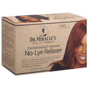 No-lye relaxer Super Dr Miracle's