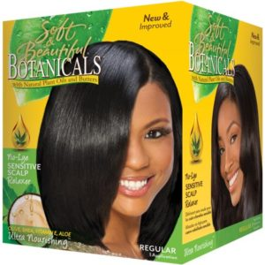 No lye sensitive scalp relaxer regular Botanicals