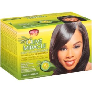 Olive miracle deep conditioning African pride