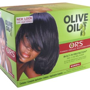 Olive oil built in protection no lye relaxer ORS